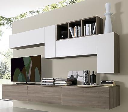 Parete attrezzata componibile- S43: Amazon.it: Casa e cucina
