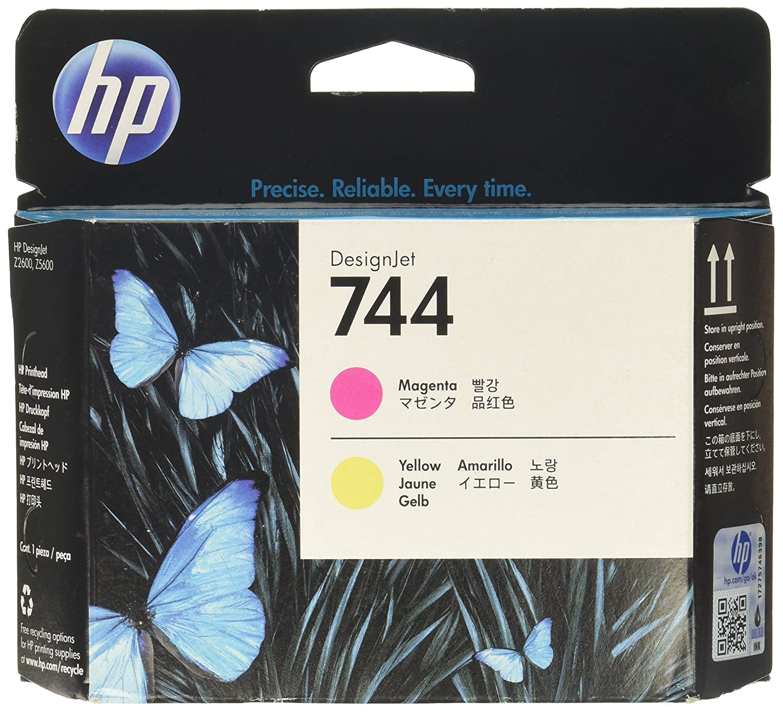 HP Hewlett Packard 936561 Testina di Stampa, Magenta/Giallo F9J87A