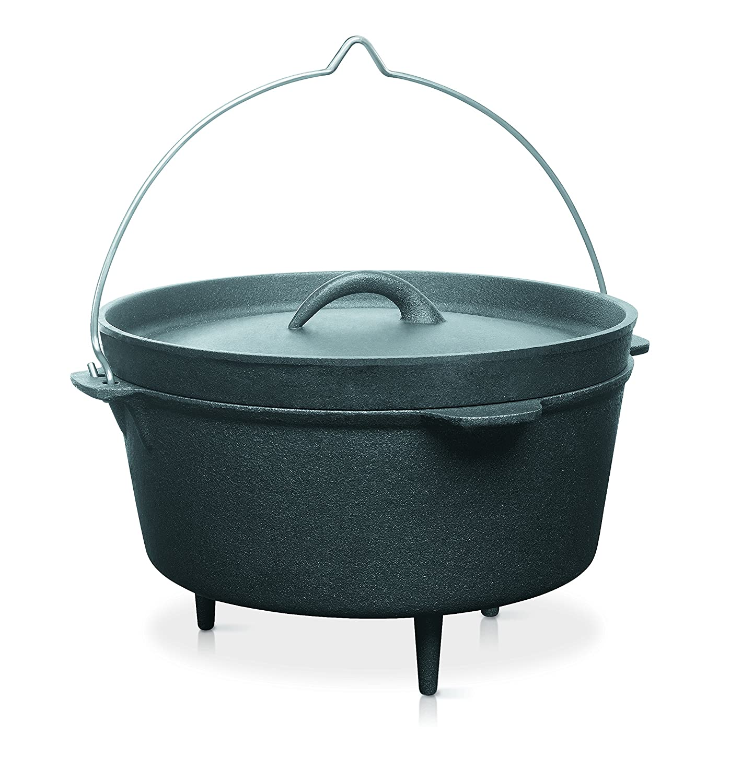 Barbecook Cocotte Acier 3L Noire, 25 cm 223.9705.000