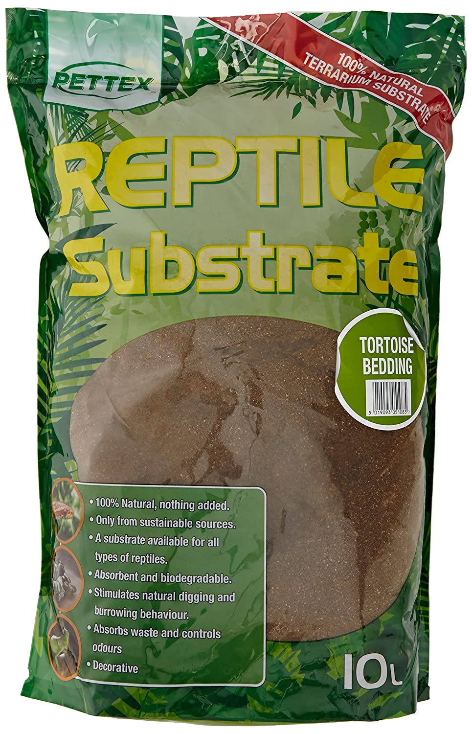 GroceryCentre 2 x Bags of Pettex Reptile Tortoise Bedding Substrate. Great for Mediterranean