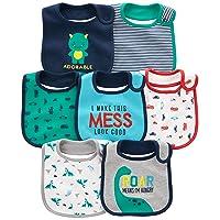 Simple Joys by Carter's Baby Boys' 7-Pack Teething Bibs