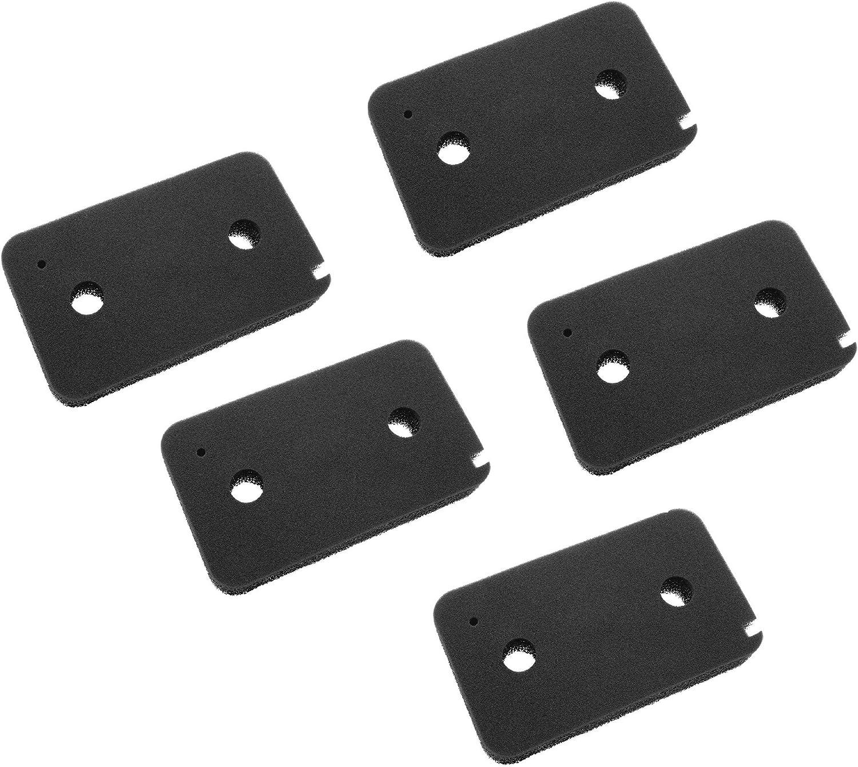 vhbw Set de 5x filtros de espuma compatible con Miele Young Style T7953WP (CH) secadoras de ropa