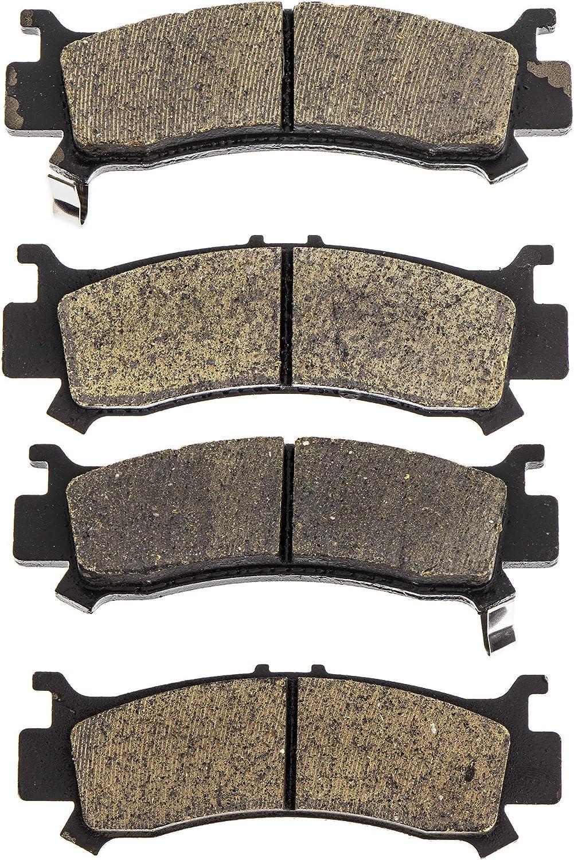 NICHE Brake Pad Kit Honda Pioneer 1000 1000-5 06451-HL4-A01 Complete Organic