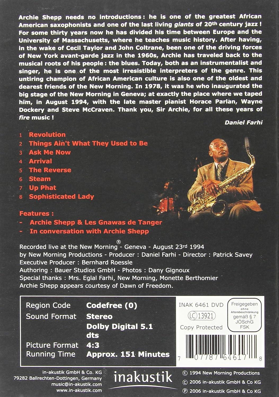 Amazon com: Shepp, Archie Band - Geneva Concert: Shepp
