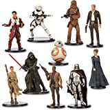 Official Disney Star Wars The Force Awakens 10 Deluxe Figurine Playset