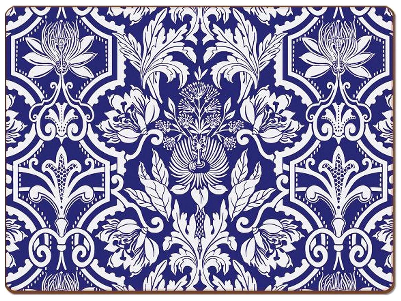 4 Cala Home Premium Hardboard Placemats Table Mats, New York Botanical Garden Design Jardinage 81943   B079J2MZDF