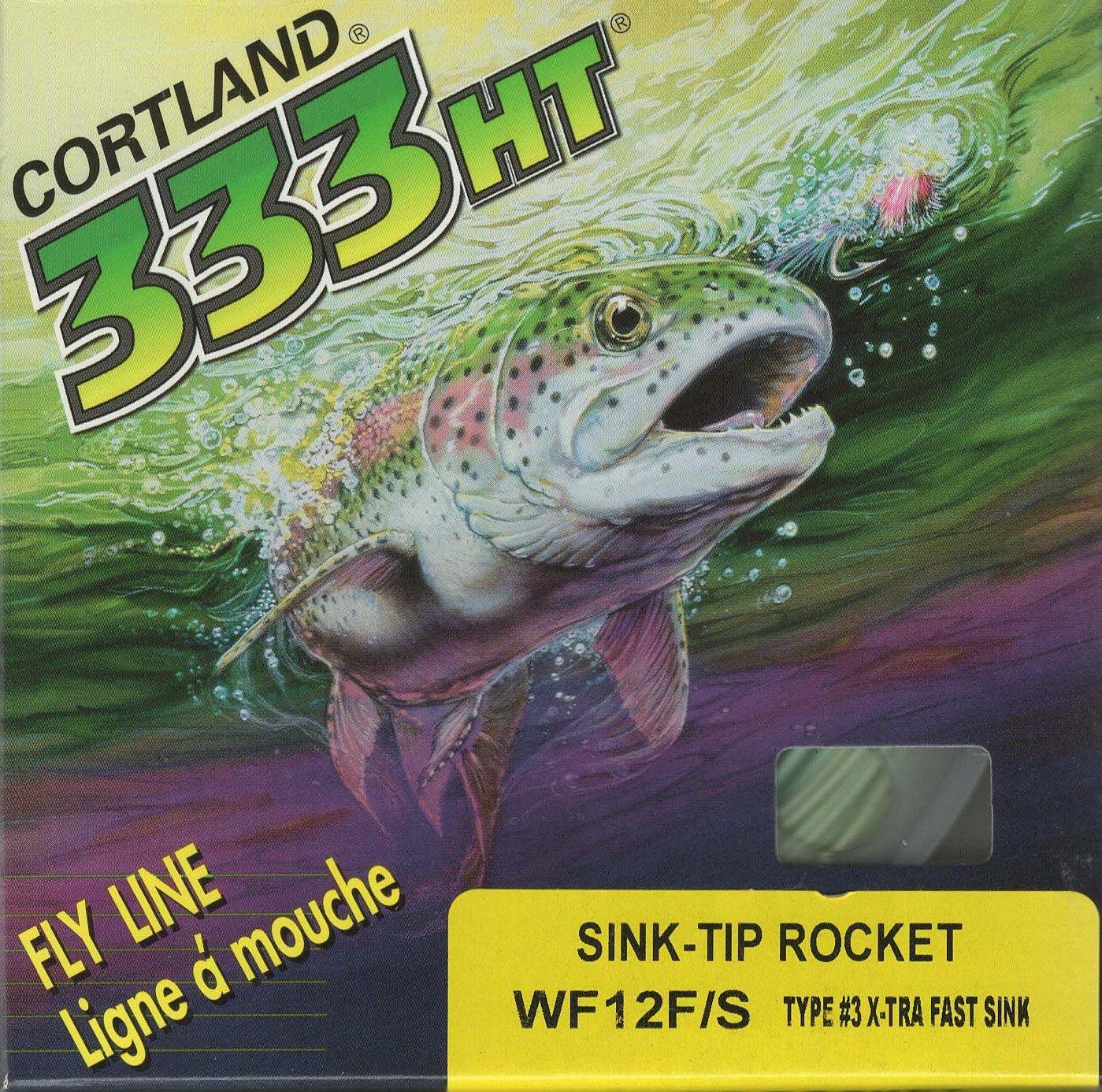Cortland X sink-tip t3 XFast wf12 Fly Line 35ヤード。   B0771MSR38