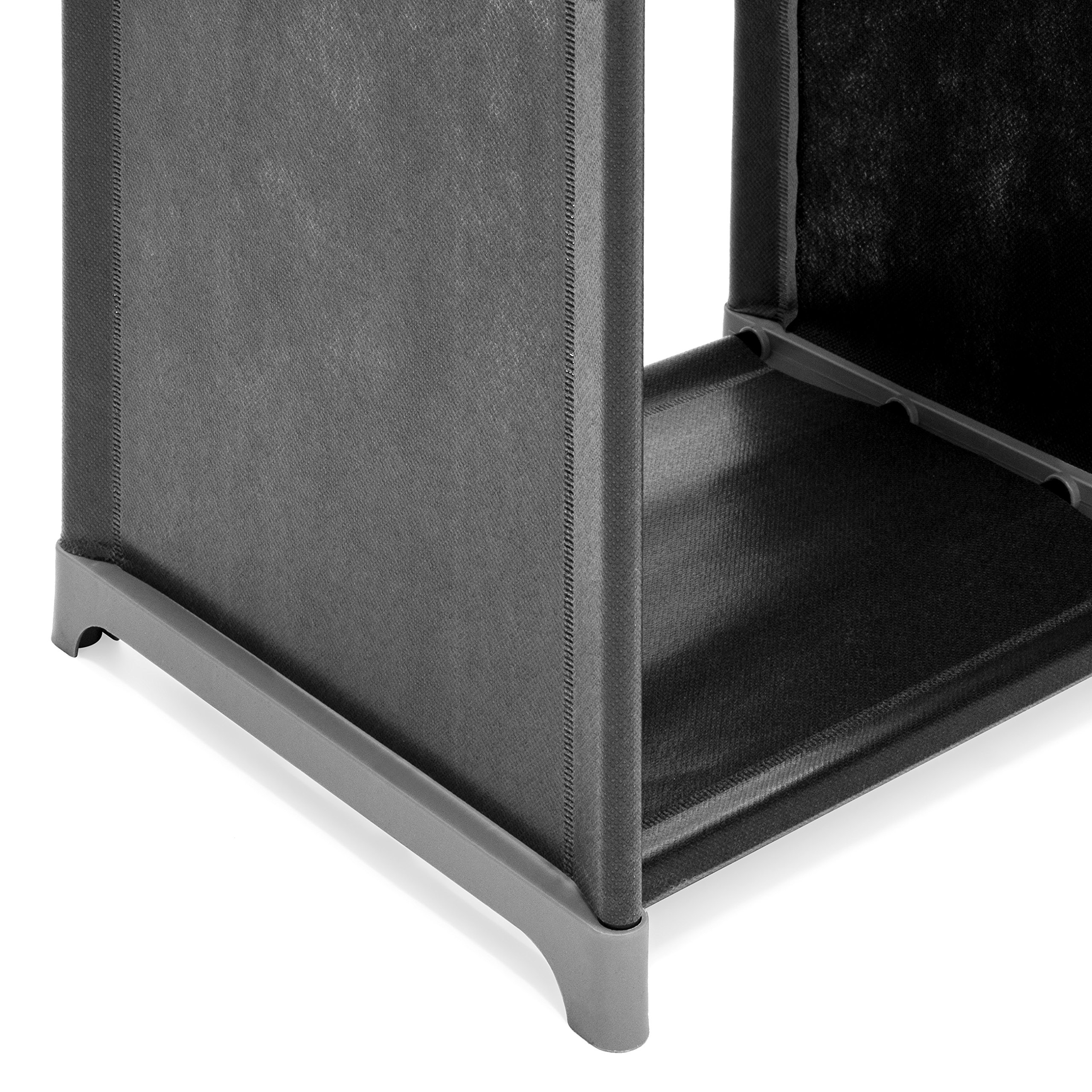 Best Choice Products 6-Drawer Multi-Purpose Shelving Cubby Storage Cabinet (Black) by Best Choice Products (Image #4)