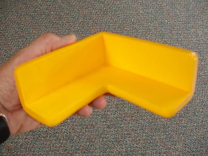2D JUMBO 4 PACK YELLOW SAFETY CORNER GUARD