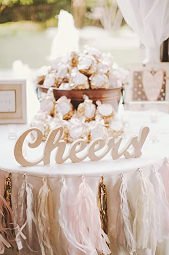 Amazon cheers wedding sign or party sign for bar reception cheers wedding sign or party sign for bar reception drink station freestanding wedding sign decor junglespirit Image collections