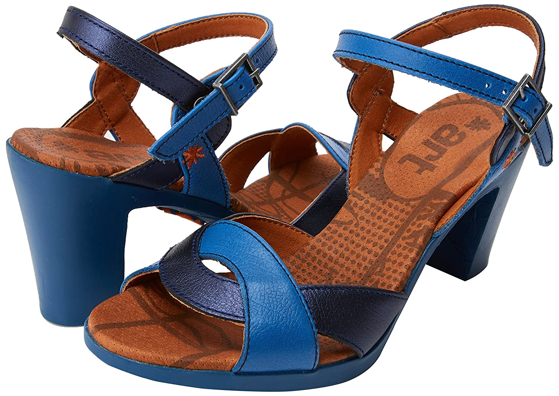 Art Damen Memphis 0279 Memphis Damen Rio Peeptoe Sandalen  Blau (Sea) c0d88a