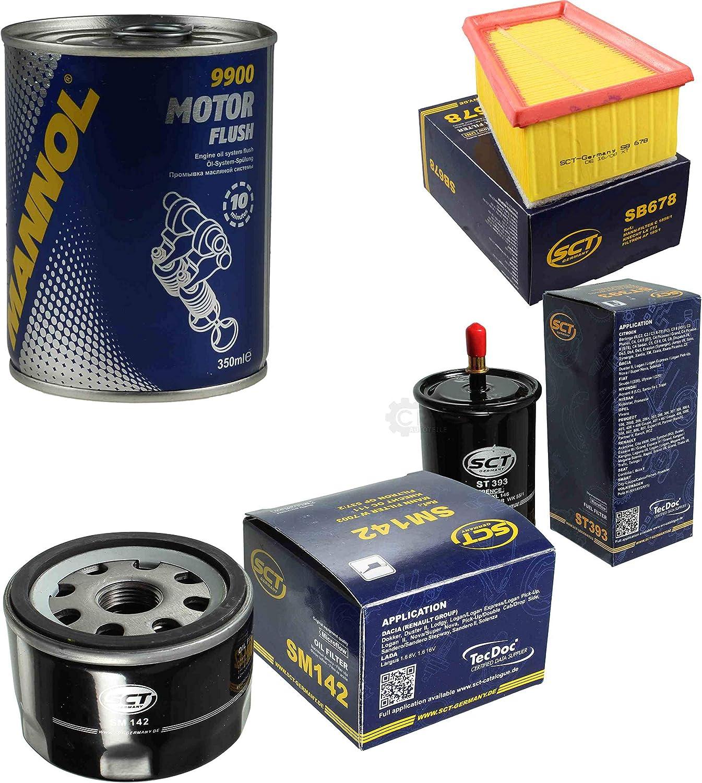 Motor Flush Motorsp/ülung 11586369 Original SCT Inspektionspaket Filter Set