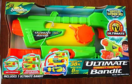 Amazon.com: Guerrero Ultimate de agua Bandit: Toys & Games