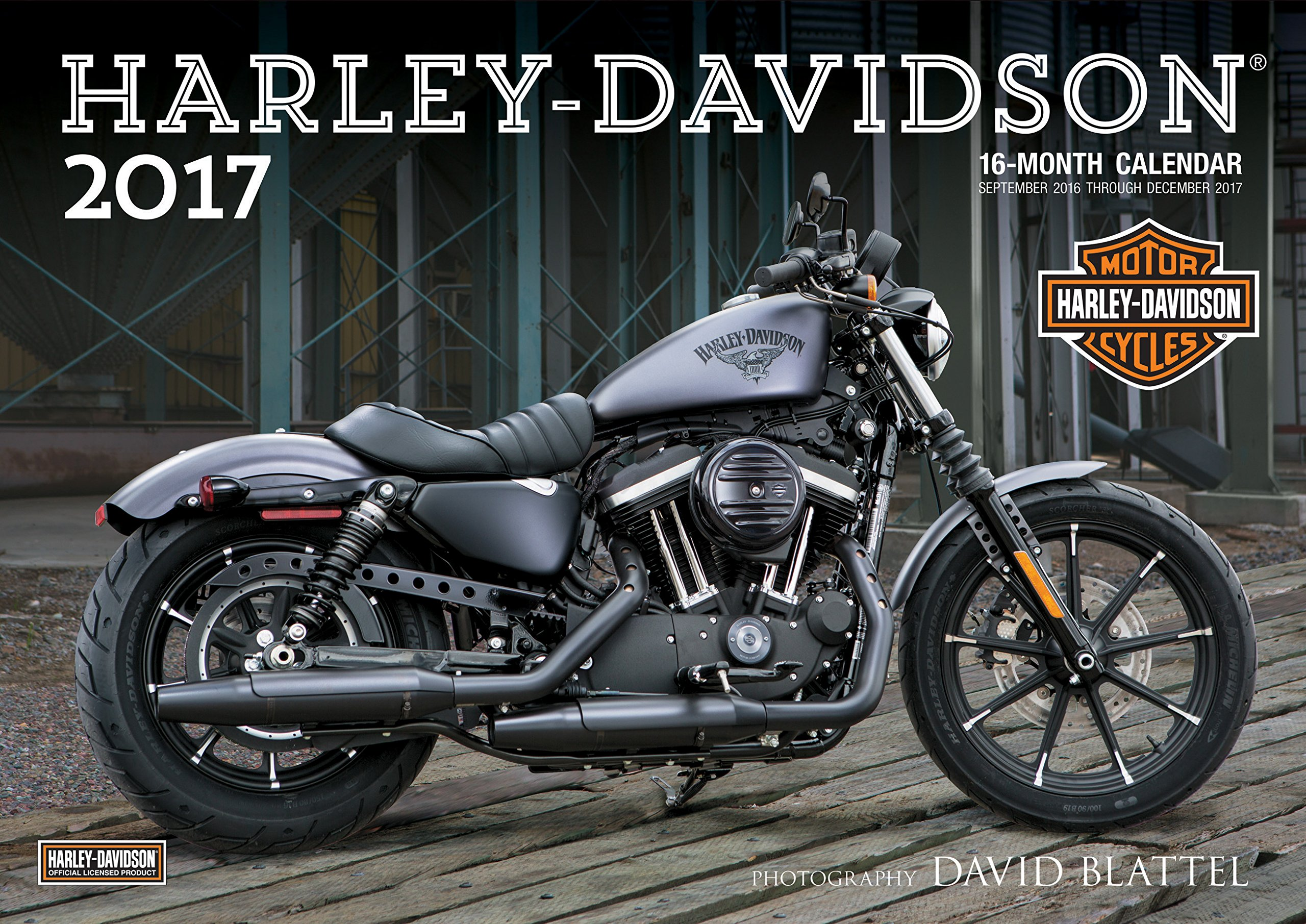 Harley-Davidson(R) 2017: 16-Month Calendar September 2016 through ...