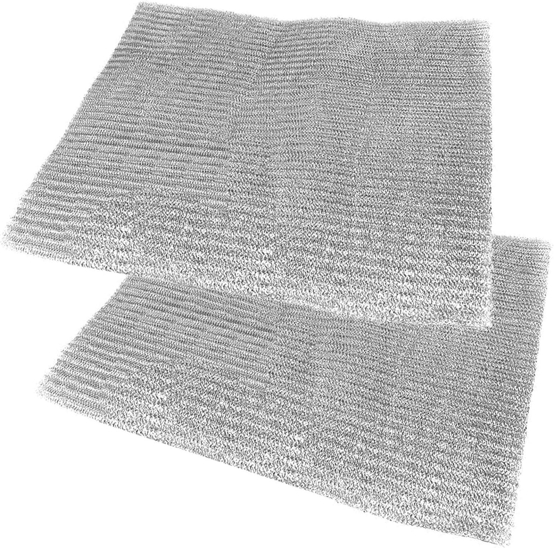 Spares2go filtro de malla de aluminio para Miele campana extractora/ extractor ventilación (Pack de 2 filtros, 57 x 47 cm): Amazon.es: Hogar