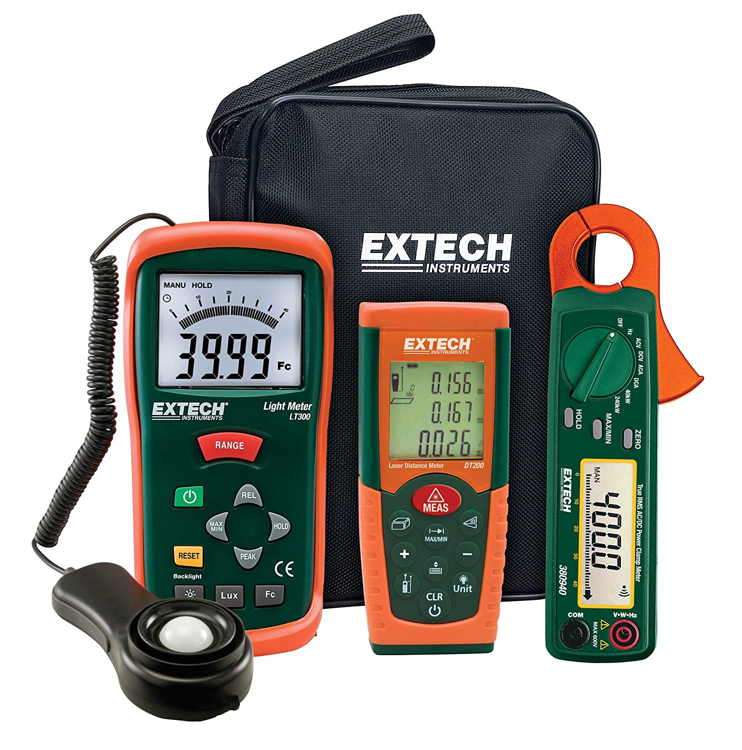 Extech LRK15 Lighting Retrofit Kit with Power Clamp Meter by Extech   B00FF3XC9S
