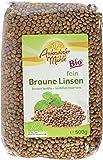 Antersdorfer Mühle Braune Linsen, 3er Pack (3 x 500 g)