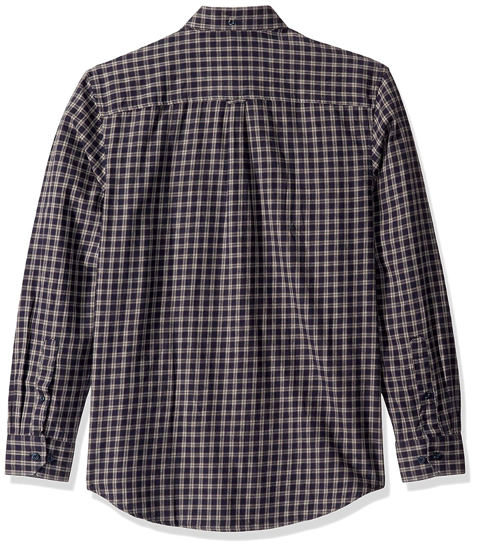 Ben Sherman Mens Ls Brushed Mini Chk Shirt