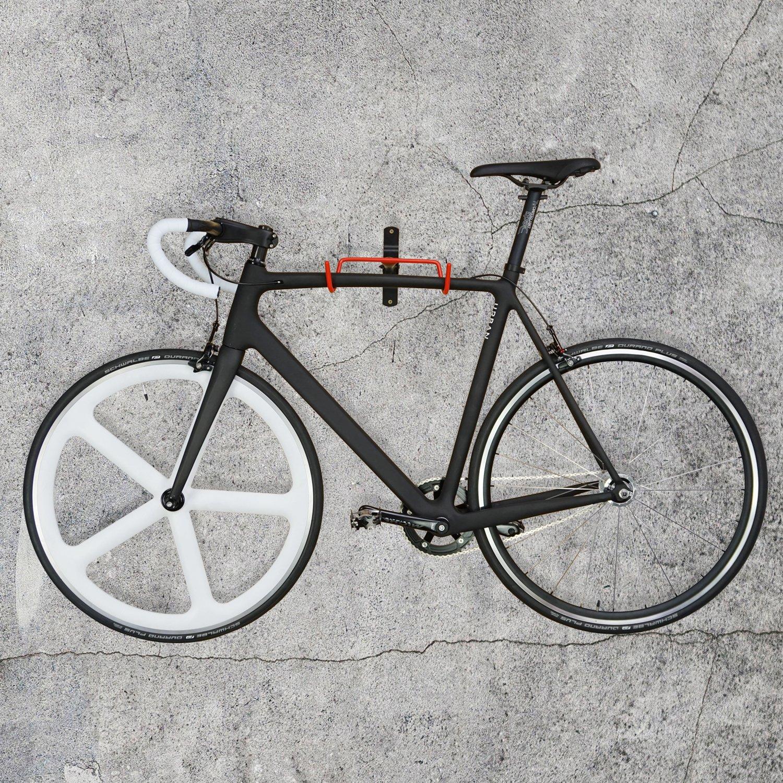 pratico e pieghevole da appendere Nero montaggio a muro salvaspazio gancio da parete per garage URBAN ZWEIRAD portabici da parete