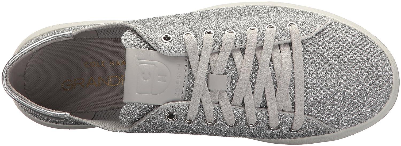 Cole Haan Women's Grandpro B(M) Tennis Stitchlite Sneaker B073RV6T8R 7.5 B(M) Grandpro US|Metallic/Silver 77c6b3