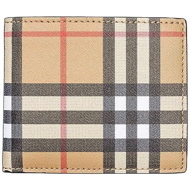 73ce054d5 Burberry cartera billetera bifold de hombre en piel nuevo Ibillf marrón:  Amazon.es: Ropa y accesorios