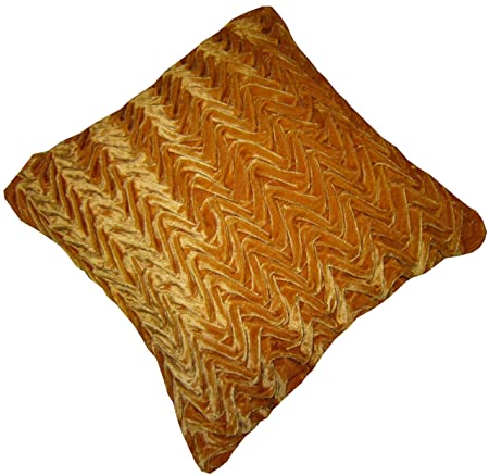 """4 X 18/"""" TRENDY FAUX SUEDE BROWN TERRACOTTA CREAM  CUSHION COVERS NOT FAUX FUR"""