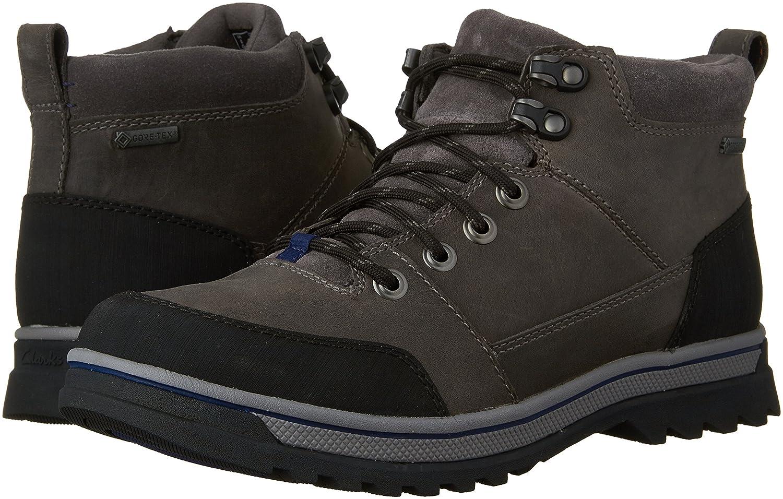134591112ef CLARKS Men's Ripway Top Gore-TEX Waterproof Boot, Grey Leather, US ...