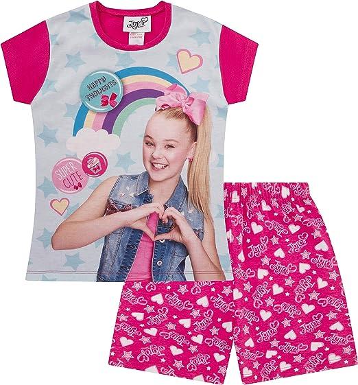 Girls Official JoJo Siwa and BowBow Short Pyjamas