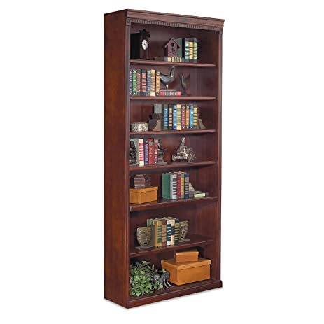 Martin Furniture Huntington Club Office Open Bookcase, 84u0026quot;