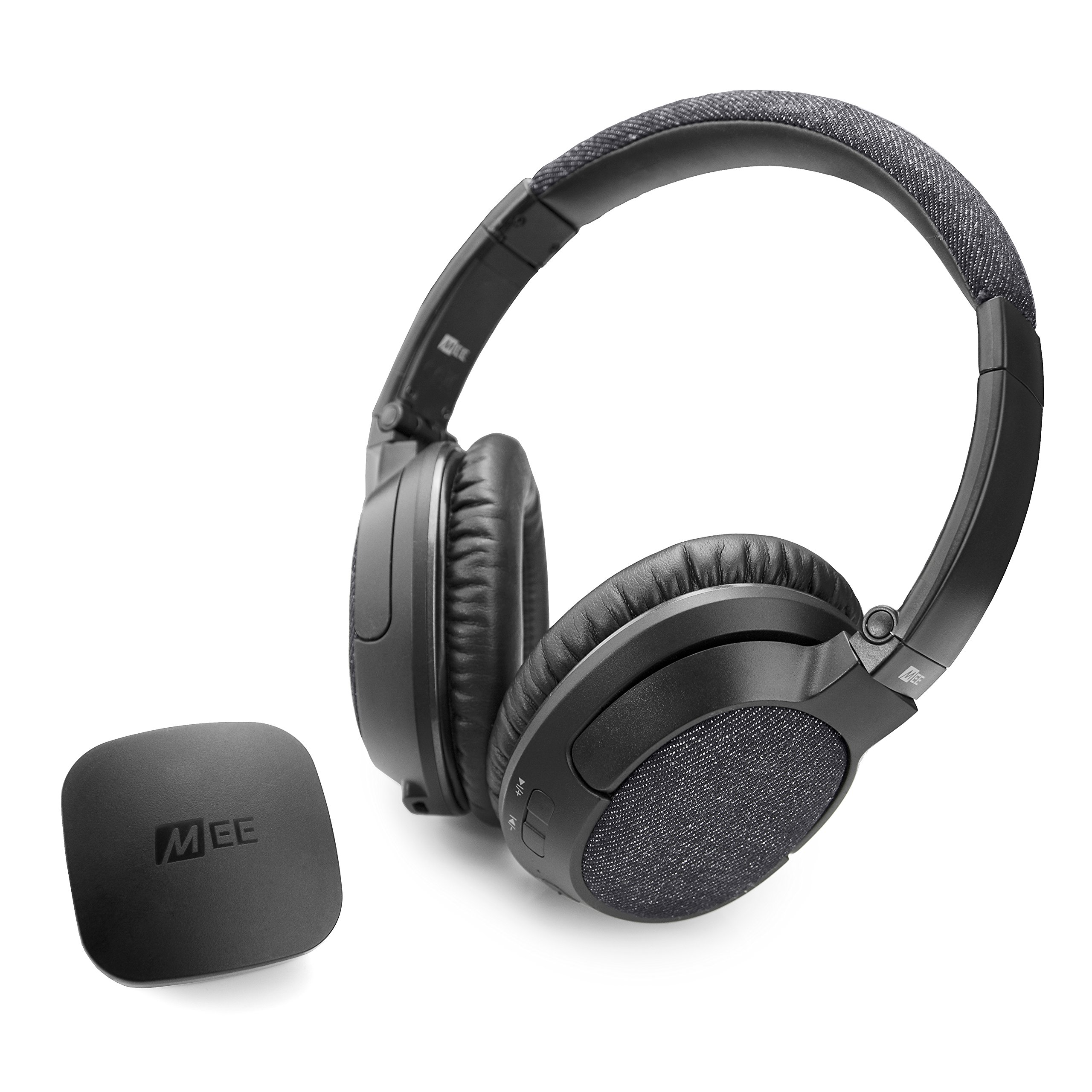 MEE audio Connect T1M3 Bluetooth Wireless Headphone System for TV - Includes Bluetooth Wireless Audio Transmitter and Matrix3 Wireless HD Headphones w/ aptX Low Latency Technology by MEE audio