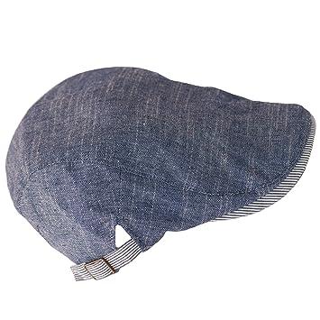 Dazoriginal Flat Cap Newsboy Cotton Bakerboy Dai Cap Hunting Hat Peakcaps  Blue  Amazon.co.uk  Sports   Outdoors eaca9dca04f1