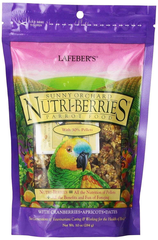 Lafeber's Gourmet Sunny Orchard Nutri-Berries for Parrots 10 oz bag 41054828509