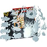 genuine SCHNEIDMEISTER Airbrush EZ -Flames vol.01 (Size -MEDIUM-), HQ Set of 14 laser cut Stencils Templates for making real true and realistic Flames and Fire