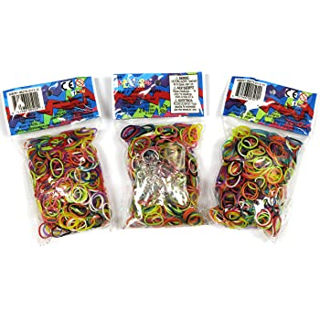 amazoncom loom rubber bands 1000 rubber band refill