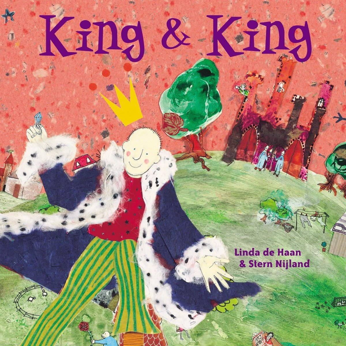 King and King: Amazon.co.uk: Haan, Linda De, Nijland, Stern: Books