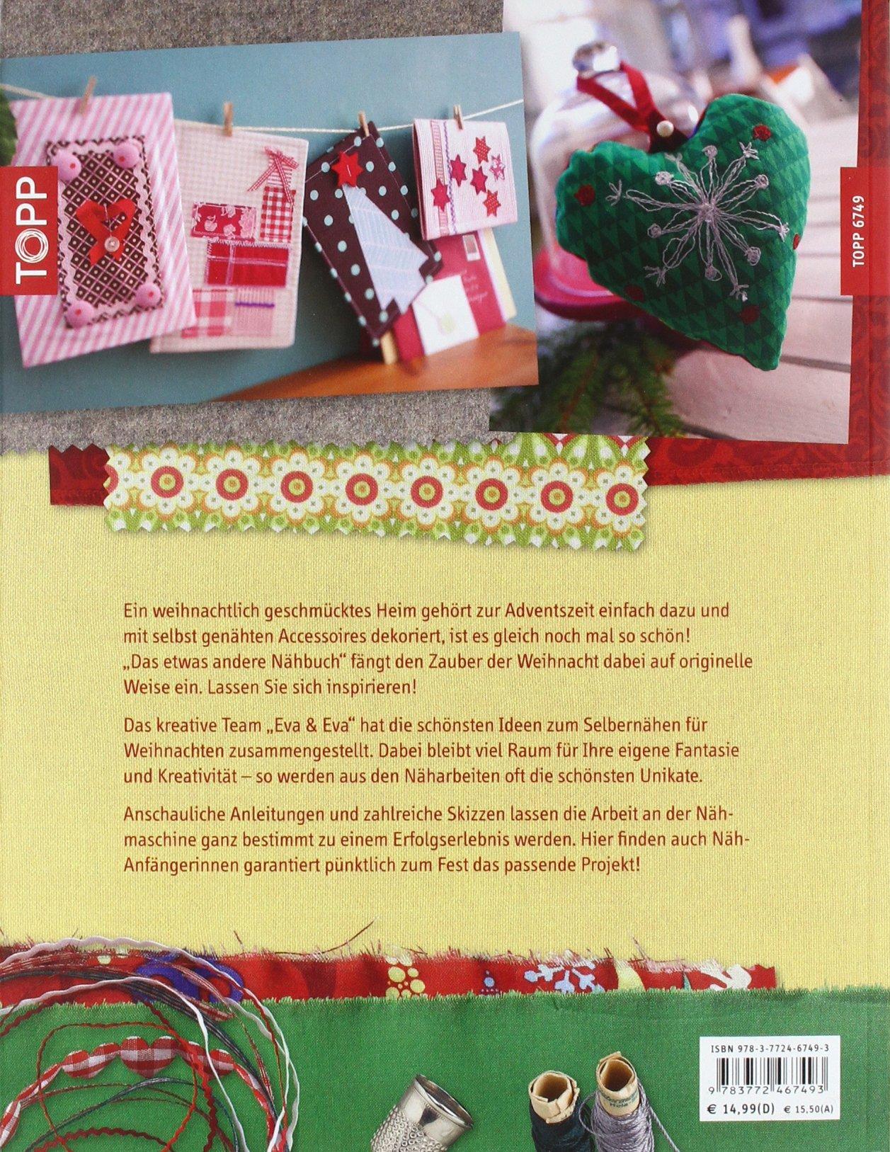 Das etwas andere Nähbuch - Weihnachten: Kreativ-Designs - lässig ...