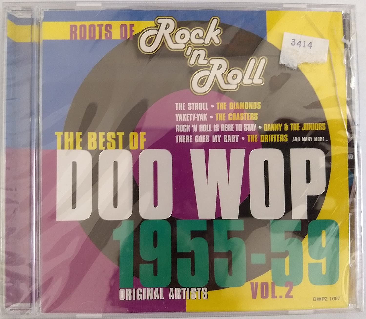 Factory outlet Max 71% OFF Best of Doo Wop Volume 1955-59 2