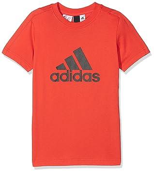 343a5a80f305c adidas garçon Logo Tee T-Shirt  Amazon.fr  Sports et Loisirs