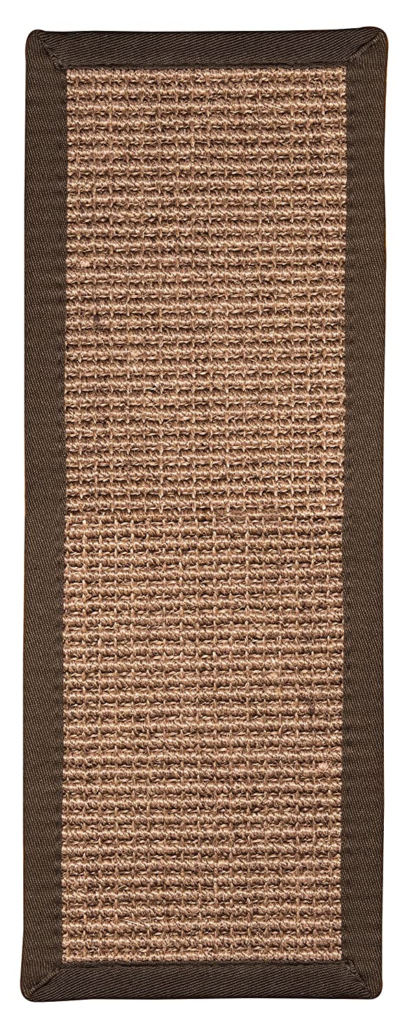 NaturalAreaRugs Freda Sisal Carpet Stair Treads, 100 Percent Natural Sisal, 9 x 29 Set of 13 9 x 29 Set of 13 margot13