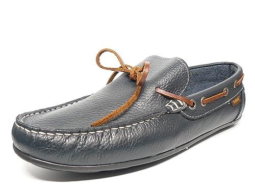 Zapato casual hombre tipo mocasin DELTELL en piel color marino - 970 - 7: Amazon.es: Zapatos y complementos