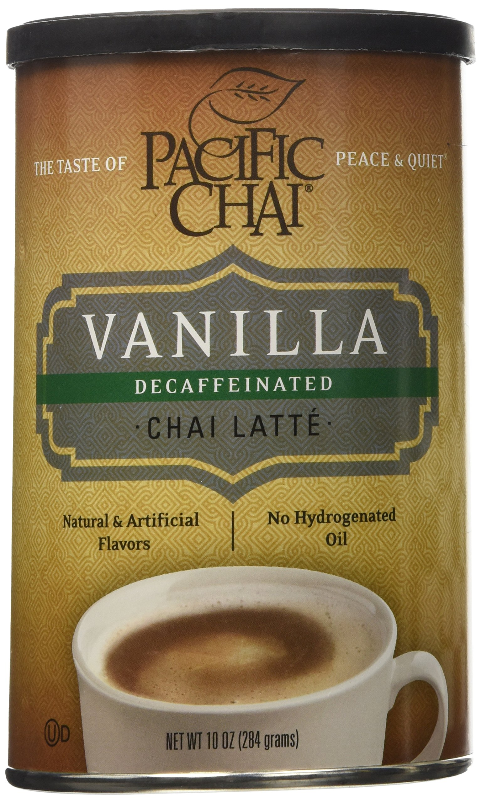David Rio Chai Mix Decaf Tiger Spice 14 Ounce Picco Latte Matcha Green Tea Can Pacific Decaffeinated Vanilla Canisters 10 Oz