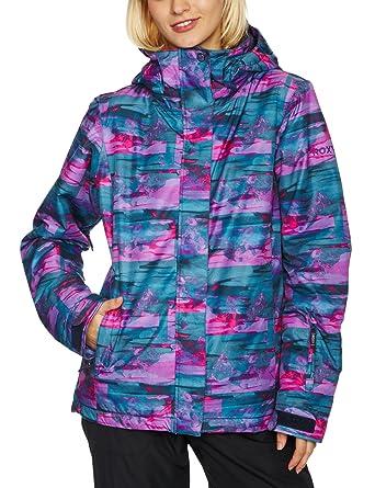 Quiksilver Roxy Jet Zipped - Chaqueta de esquí para mujer, tamaño M, color morado: Amazon.es: Ropa y accesorios