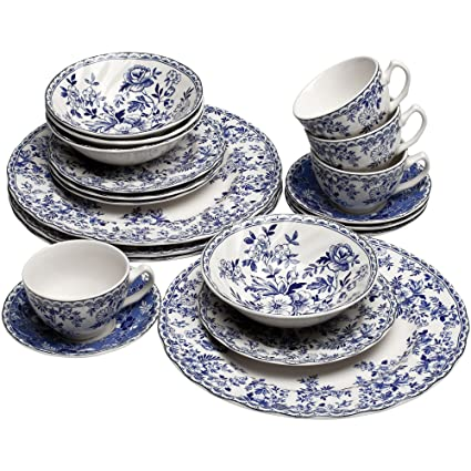 Johnson Brothers Devonu0027s Cottage 20-pc. Dinnerware Set  sc 1 st  Amazon.com : johnson brothers tableware - Pezcame.Com