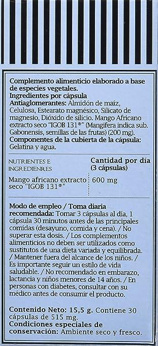 Pronutri Complemento Alimenticio, Elaborado a Base de Especies Vegetales, 30 Cápsulas: Amazon.es: Salud y cuidado personal