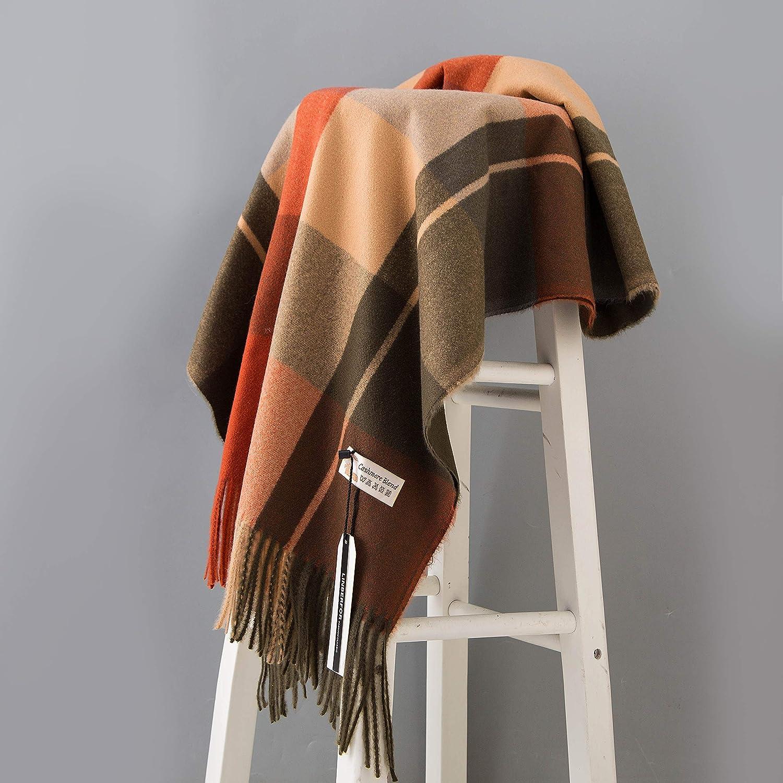 Sciarpa in cashmere Pashminas Wraps Scialle Morbido lana calda Plaid fresco Nappa Unisex Donna Uomo Donna Amanti Sciarpe per linverno Autunno Primavera