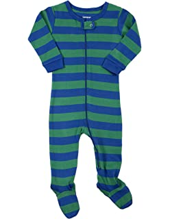 Leveret Striped Baby Boys Footed Pajamas Sleeper 100% Cotton Kids   Toddler  Pjs (0 c5099fcd9