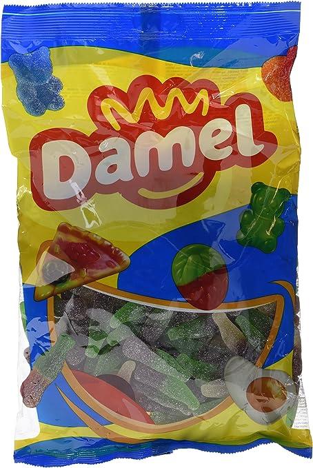 Damel - Gominolas - Sabor a cola - 1 kg - [pack de 2]: Amazon.es ...