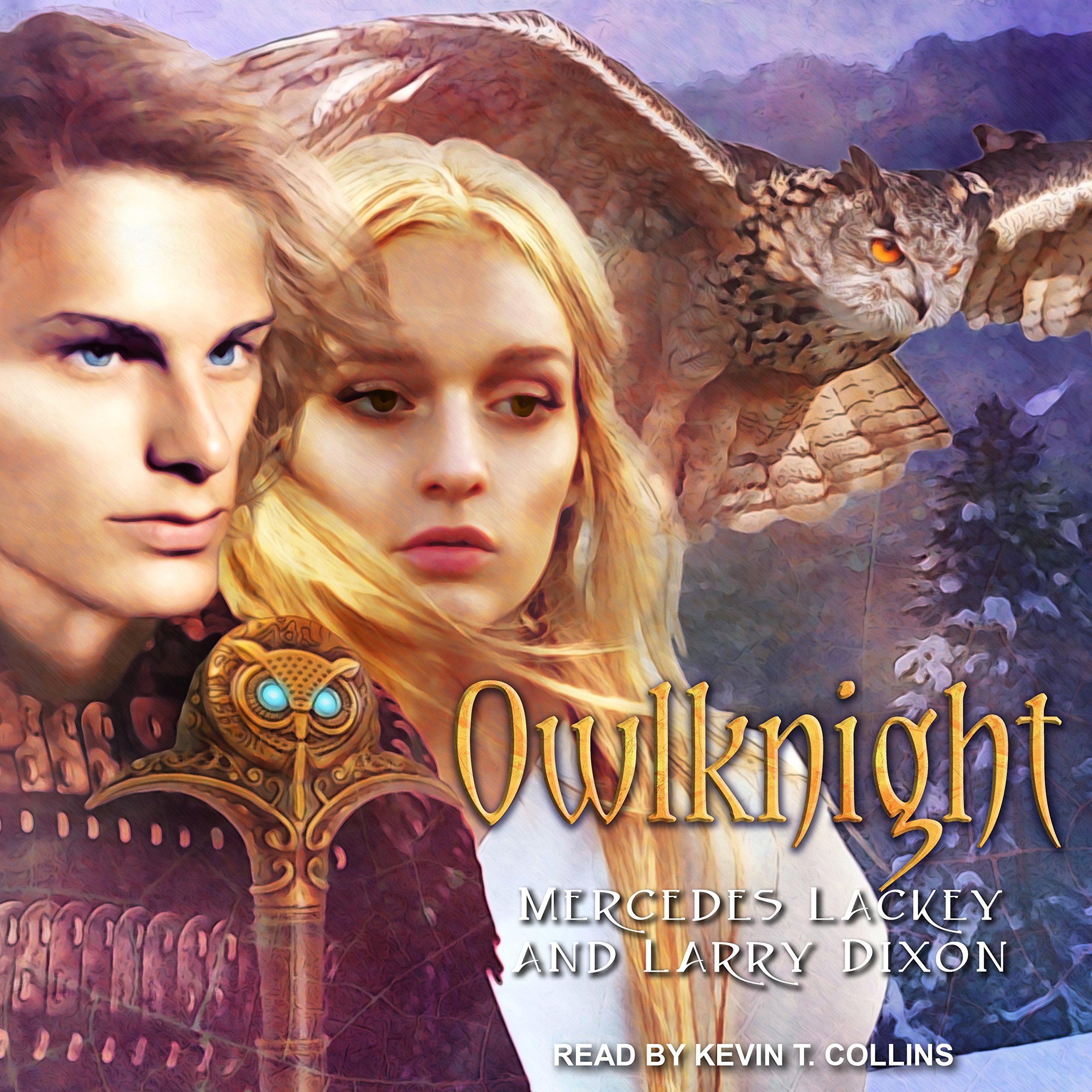 Owlknight (Owl Mage Trilogy): Amazon.co.uk: Mercedes Lackey, Larry Dixon,  Kevin T. Collins: 9781541409149: Books