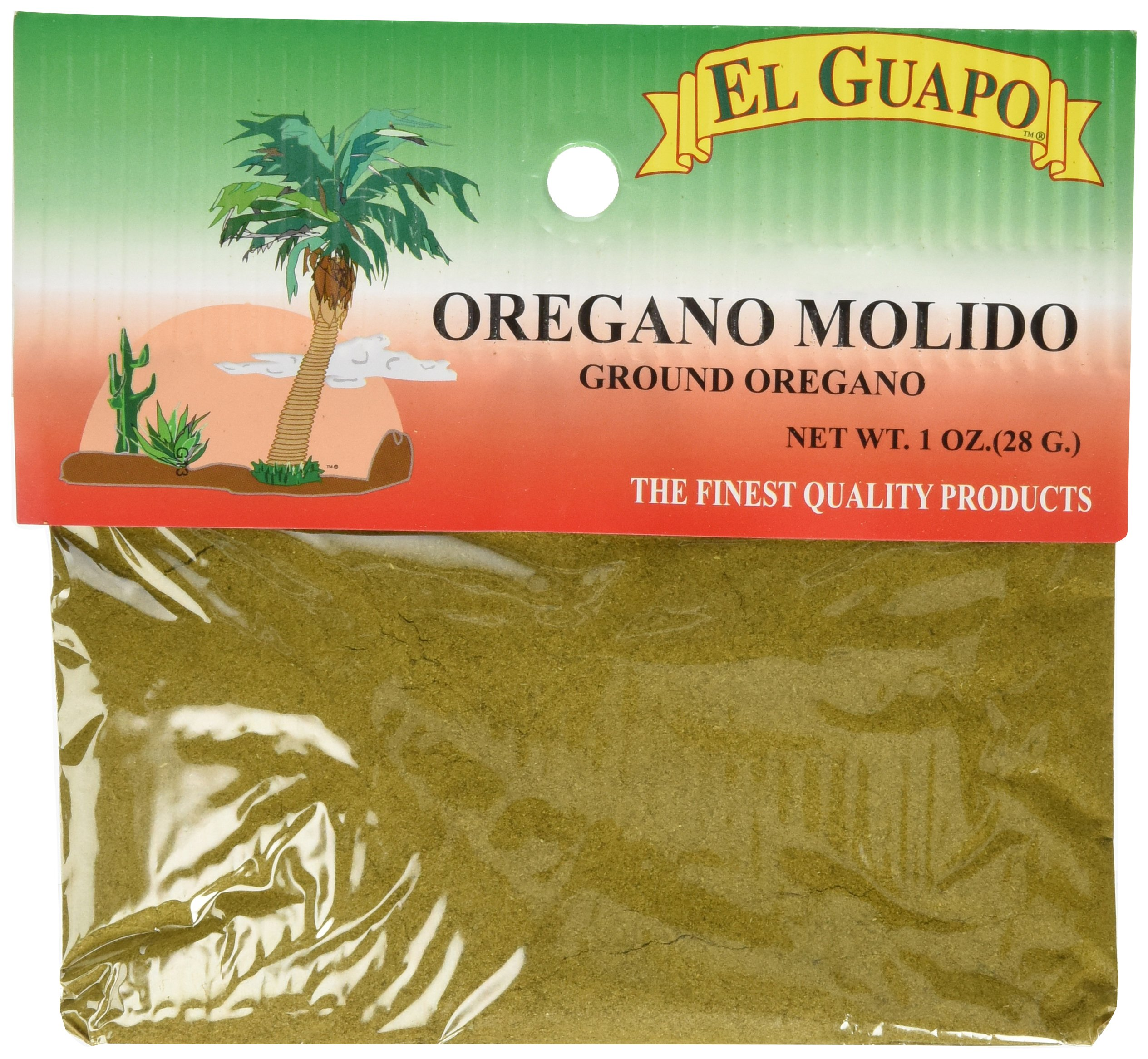 El Guapo Ground Oregano Seasoning, 1 Ounce (Pack of 12)