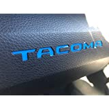 Glove Box Vinyl Decal Inserts - Compatible with All 2016-2020 Toyota Tacoma Models (Blue)